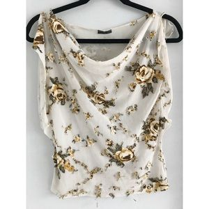 Rampage Flower Patch Top